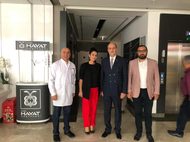 Elazığ Eski Belediye Başkanı Süleyman Selmanoğlu Üreter Taşı Ameliyatı